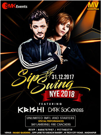 New Year Hyderabad 2018 Party MV Productions