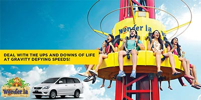 1 Day Wonderla by Car