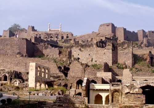 Image result for Golkonda Fort Hyderabad