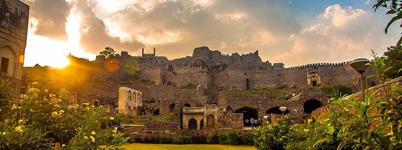 golconda fort hyderabad timings entry ticket cost price fee hyderabad tourism 2018. Black Bedroom Furniture Sets. Home Design Ideas